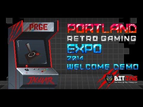 JagCorner | BitJag Portland Retro Gaming Expo 2014 | Welcome Demo