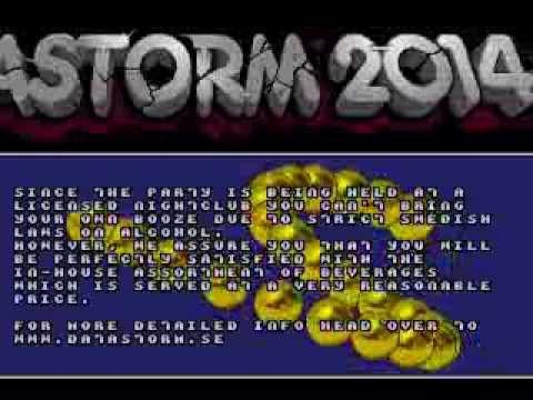 Datastorm 2014 Invitation (Megadrive) by Genesis Project