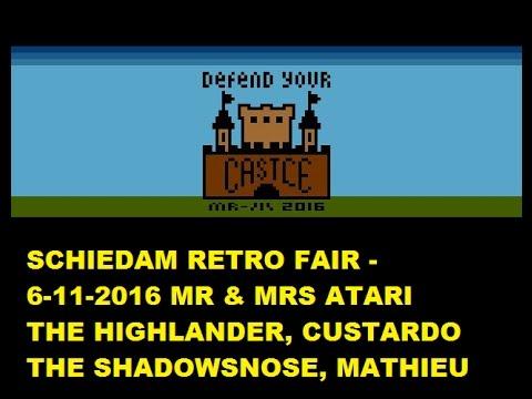 Schiedam Retro Fair & A First Look At A Mr Atari Atari 2600 Homebrew Game