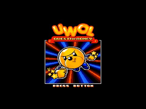 Mega Drive Longplay - UWOL: Quest for Money [Homebrew]