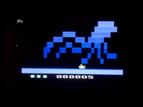 Kraken Attack For Atari 2600