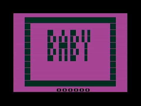 Baby Atari 2600 Gameplay