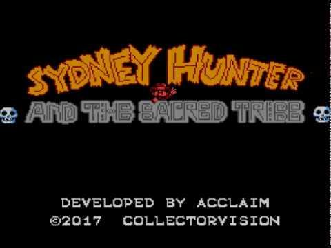 Sydney Hunter and the Sacred Tribe Sega Master System SMS