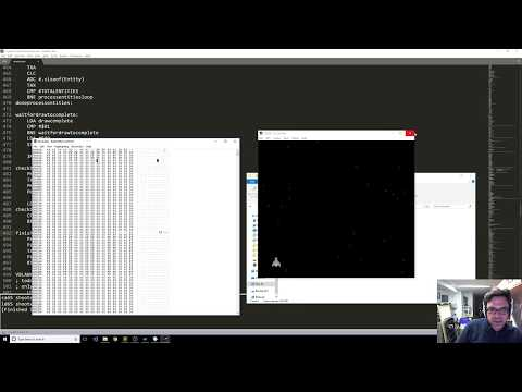 NES programming #5 - Collision detection is finally implemented!
