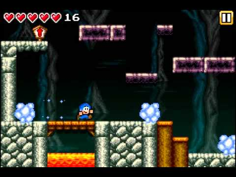 """Retro platformer """"Bloo Kid"""" available for iPhone, iPod Touch and Android"""