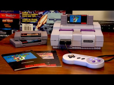 The Launch of the Super Nintendo (1991) | Classic Gaming Quarterly