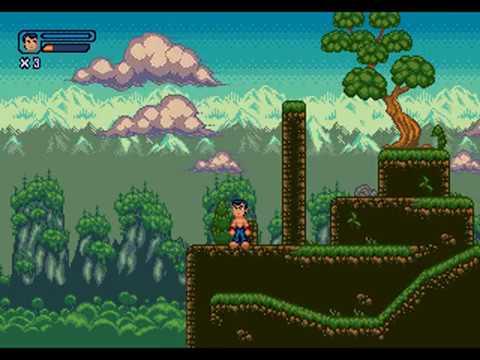 Character movement gameplay - Kung Fu UFO - Sega Mega Drive Genesis