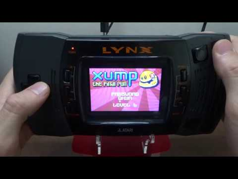 XUMP for Atari Lynx Gameplay