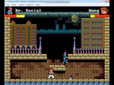 [Homebrew Megadrive] Sega Master System Brawl - version du 01/07/2014