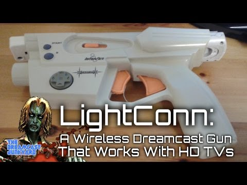 LightConn: A Wireless Dreamcast Light Gun That Works With HDTVs