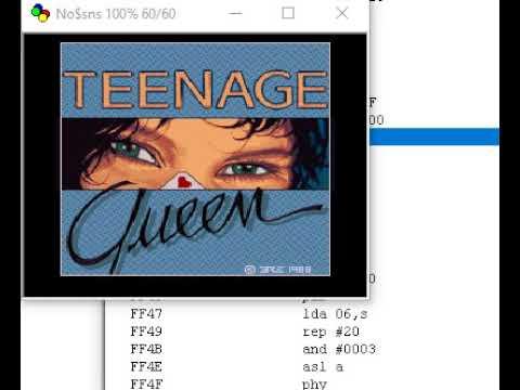 teenage queen for SNES :)