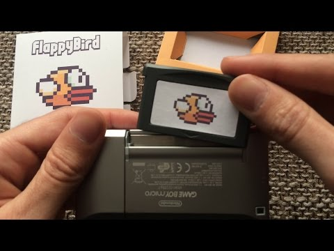 Flappy Bird for Game Boy Advance / SP / Micro