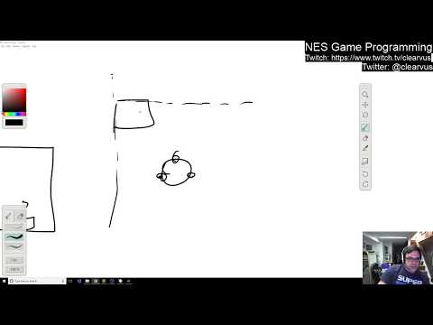 NES programming #6 - Data driven collision detection and physics (sort of)