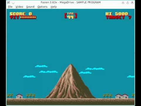 Garoudan Megadrive/Genesis WIP #1