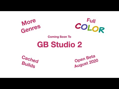 GB Studio 2 Beta Trailer