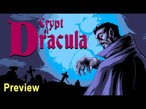 Crypt of Dracula Preview | Sega Genesis | Mega Drive | Matteusbeus