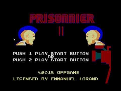 Prisonnier II Homebrew Master System