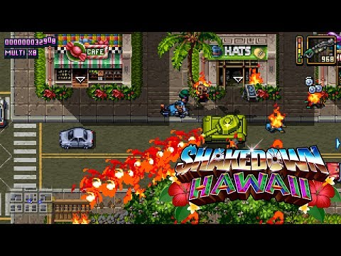 "Shakedown: Hawaii | The ""Full Tank"" Update [Nintendo Switch, PS4, PS Vita, 3DS, PC]"