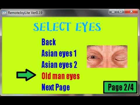 PSP homebrew Crazy eyes