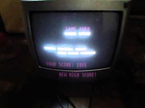 Crazy Driver (Sega Genesis/Mega Drive homebrew) on the real hardware