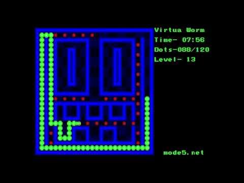 Virtua Worm - Genesis Homebrew game