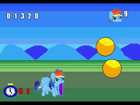 Unlucky Pony v1.1 (Sega CD homebrew)