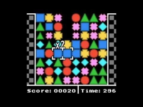Geometrix - Homebrew Game [GBC Game][GBDev 2015]