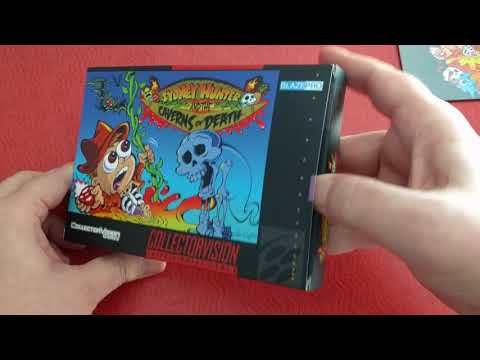 New SNES Game! Unboxing Sydney Hunter and the Caverns of Death