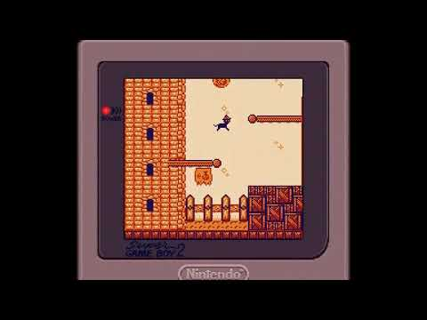 Mona and the Witch's Hat - 2018 Game Boy Game (Real Super Game Boy Capture)