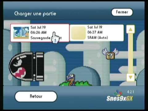 Snes9x GX v4.2.1 www.nintendomax.com