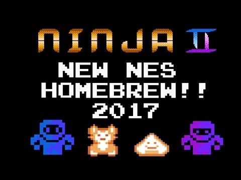 Ninja II - NES Homebrew Game (2017)