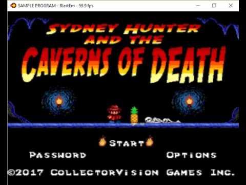 POC Sydney Hunter and Cavern Of Death on Megadrive