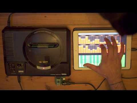 SEGA Mega Drive / Genesis Controlled via iPad!