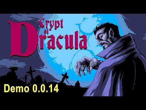 Crypt of Dracula | Sega Genesis | Mega Drive | Demo 0.0.14