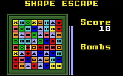 20080927 Shape Escape v0.6 (IntelliVision Game) Shape Escape v0.6 (IntelliVision Game)