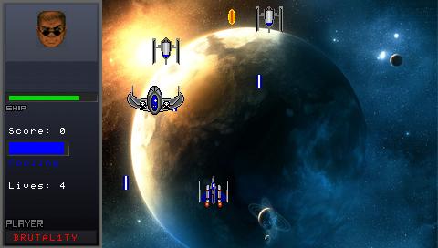 Игры про космос на psp