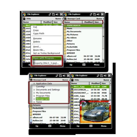 file explorer extension v2.03 (ppc application) › pocket