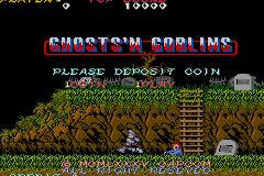 Ghosts N Goblins GBA v0.1 (Ghost N Goblins Arcade emu for GBA)