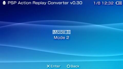 PSP Action Replay Converter v0 30 (PSP Application