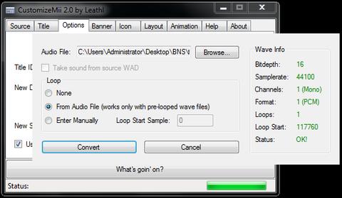 CustomizeMii v3 11 (Wii Application misc) › Wii › PDRoms