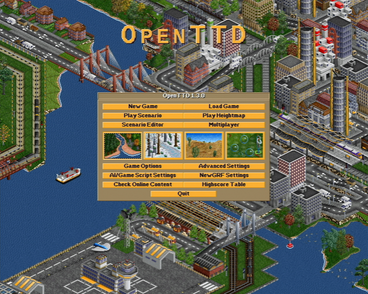 Open Transport Tycoon Deluxe (OpenTTD) v1.3.0 (Wii Game Port) › Wii › PDRoms - Homebrew 4 you