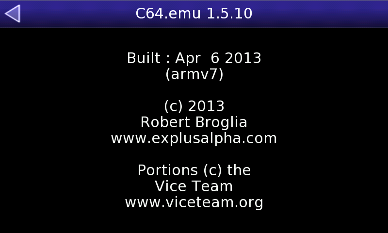 20130408 c64.emu v1.5.10.06 (c64 emu for pandora) C64.emu v1.5.15.09 (C64 emu for Pandora)