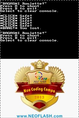 20130831 bagasmi roulette (10 08 2013) (nds game) BAGASMI Roulette (10 08 2013) (NDS Game)