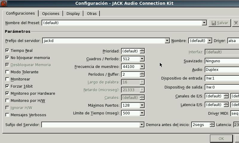 20131005 qjackctl v0.3.10.1 (pandora application port) QjackCtl v0.3.10.1 (Pandora Application Port)