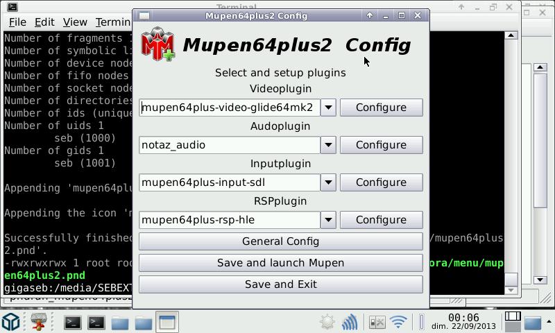 20131011 mupen64plus v2.0.0.01 (n64 emu for pandora) Mupen64Plus v2.1.0.16 (N64 emu for Pandora)