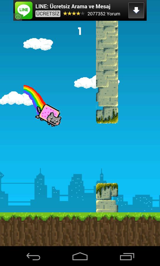 20140216 flappy cat v1.1.3 (android game) Flappy Cat v1.1.3 (Android Game)