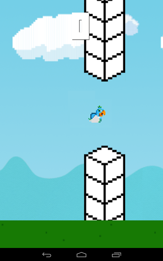 20140216 flappy parrot v1.1 (android game) Flappy Parrot v1.1 (Android Game)