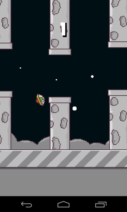 20140216 flappy ufo v1.3 (android game) Flappy UFO v1.3 (Android Game)