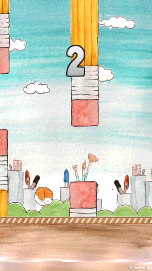 20140216 tappy bird v1.6 (android game) Tappy Bird v1.6 (Android Game)