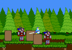 Violence Pingouin (Megadrive)